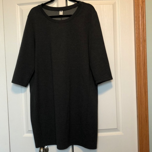Old Navy Charcoal Dress
